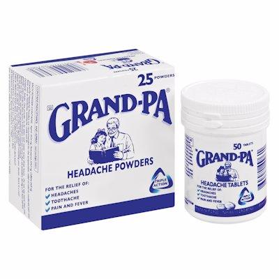 GRANDPA POWDERS 25'S