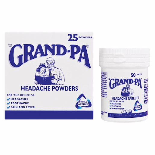 GRANDPA POWDERS    KVI 25'S