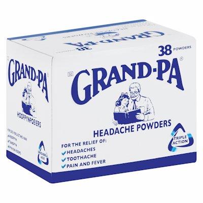 GRANDPA POWDERS 38'S