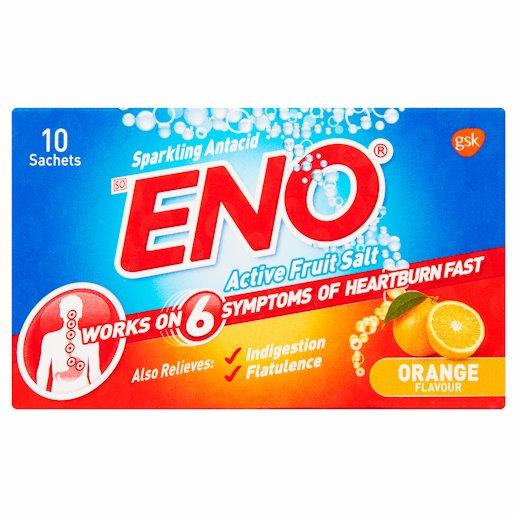 ENO ORANGE TRAVEL PACK F/SALT 10'S