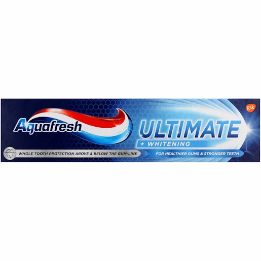 AQUAFRESH T/PASTE ULT&WHT 75ML