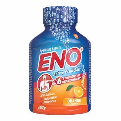 ENO ACTIVE FRUIT SALT ORANGE 200GR