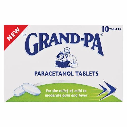 GRANDPA PARACETAMOL 10'S