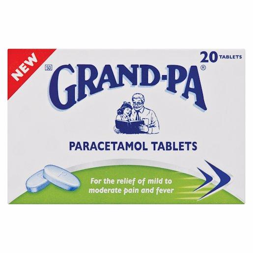 GRANDPA PARACETAMOL 20'S