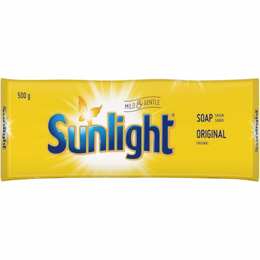 SUNLIGHT SOAP LAUNDRY BAR 500GR