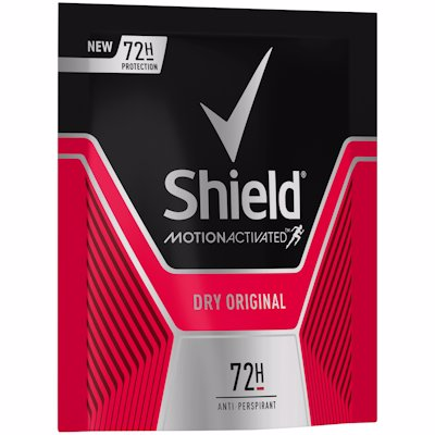 SHIELD MEN REFILL SACHET DRY ORIGINAL 50ML