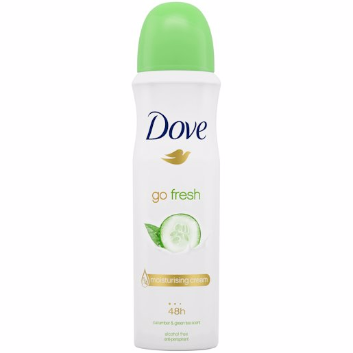 DOVE DEO CUCUMBER/GRN TEA 150ML