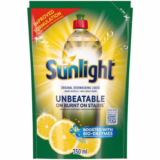 SUNLIGHT LIQUID POUCH REG 750ML