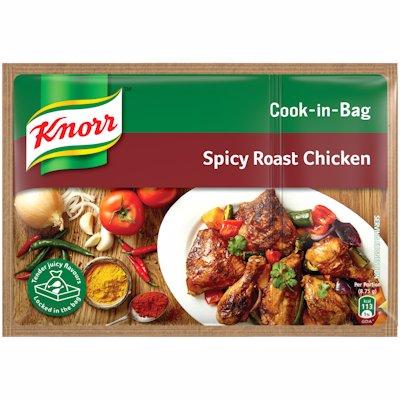KNORR COOK-IN-BAG SPICY ROAST CHICKEN 35G