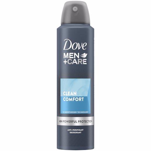 DOVE AERO MEN CLEAN COMFT 150ML