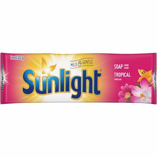 SUNLIGHT LAUNDRY BAR TROP 400GR