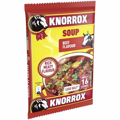 KNORROX SOUP BAG BEEF 400GR