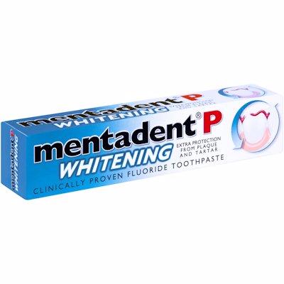 MENTADENT P TOOTHPASTE WHITENING 100ML