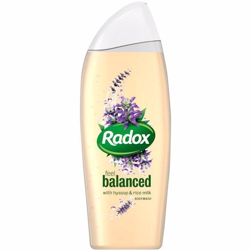 RADOX B/WASH BALANCED 400ML