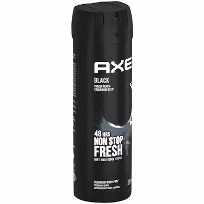 AXE BODY SPRAY BLACK 200ML