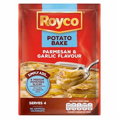 ROYCO POTATO BAKE PARMESAN & GARLIC FLAVOUR 40G