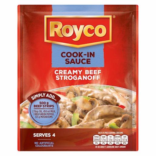 ROYCO C.I.S.CR/BEEF STROG 57GR