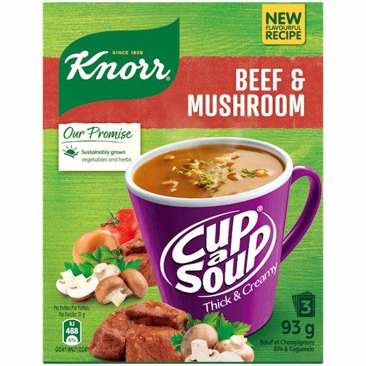 KNORR CAS T/CRMY BEEF/MUSHROOM 3'S