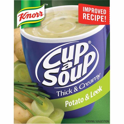 CUP A SOUP TH&CR POT & LEEK 3'S