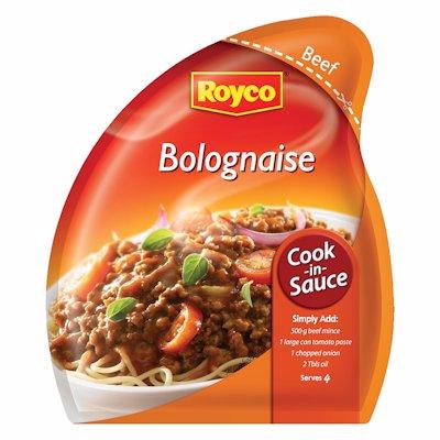 ROYCO COOK-IN SAUCE BOLOGNAISE 37GR