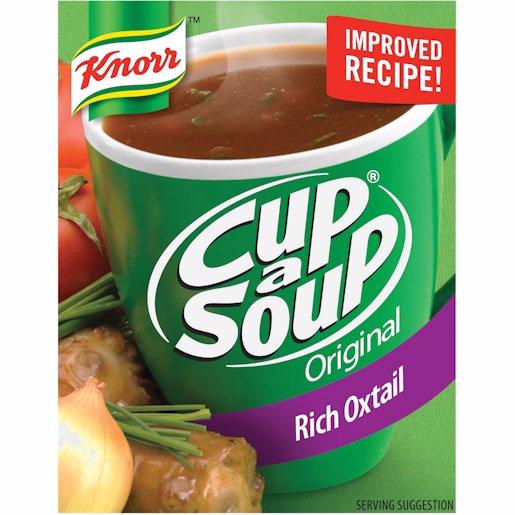 CUP A SOUP OXTAIL 4'S REG 4'S R