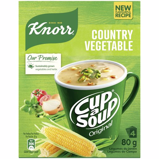KNORR CUP COUNTRY VEGETABLE 80GM
