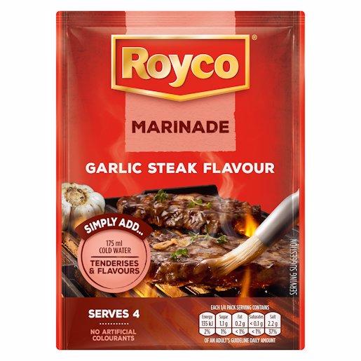ROYCO MARINADE GARLIC & STEAK 42GR