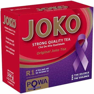 JOKO ROUND T/LESS TEABAGS 100'S