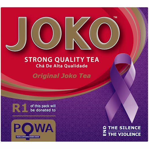 JOKO TEA BAG TAGLESS 100'S