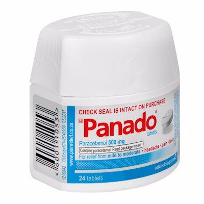 PANADO TAB SECURITAINE 24'S