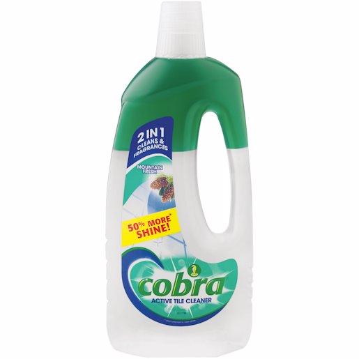 COBRA ACT.TILE CLNR M/FRESH 750ML