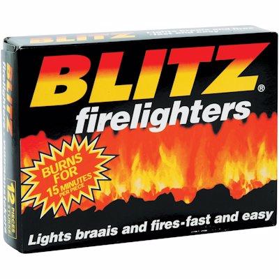 BLITZ FIRE LIGHTERS 1'S