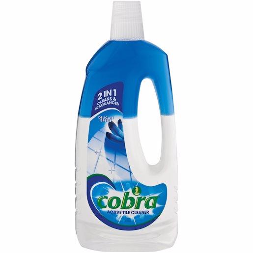 COBRA ACT TILE CLN DELIC BREEZ 750ML