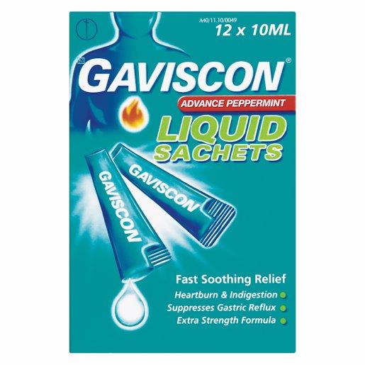 GAVISCON SACHETS 12'S