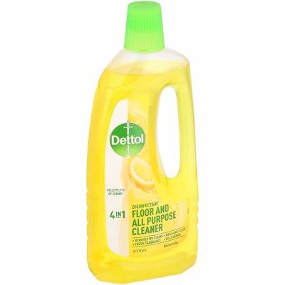 DETTOL FLOOR & ALL PURPOSE CLEANER CITRUS 750ML