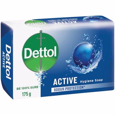 DETTOL ACTIVE HYGIENE SOAP 175G