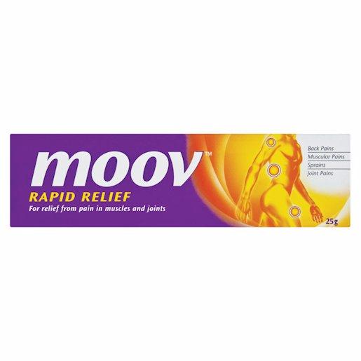 MOOV OINTMENT RAPID RLIEF 25GR