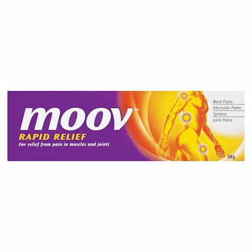 MOOV OINTMENT RAPID RLIEF 50GR