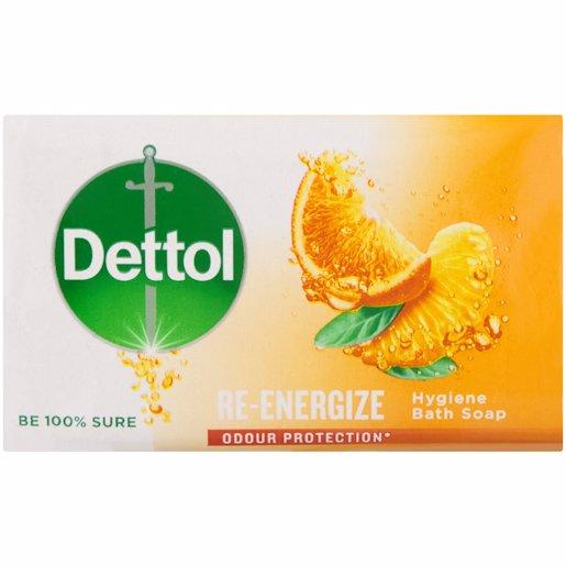 DETTOL SOAP RE-ENERGIZE 175GR