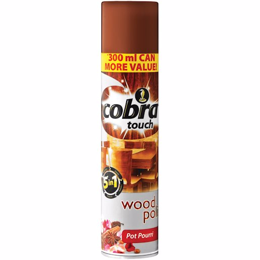 COBRA TOUCH WOOD P/POURRI 300ML