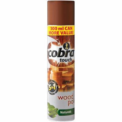 COBRA TOUCH WOOD NATURALS 300ML