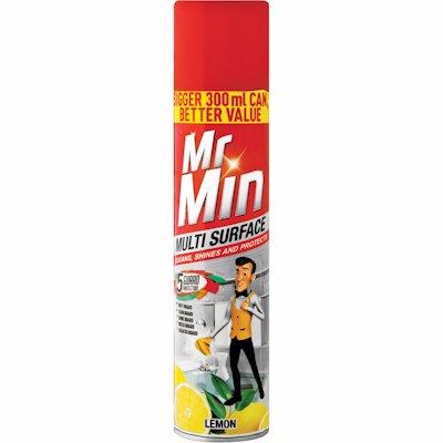 MR MIN MULTI SURFACE LEMON 300ML