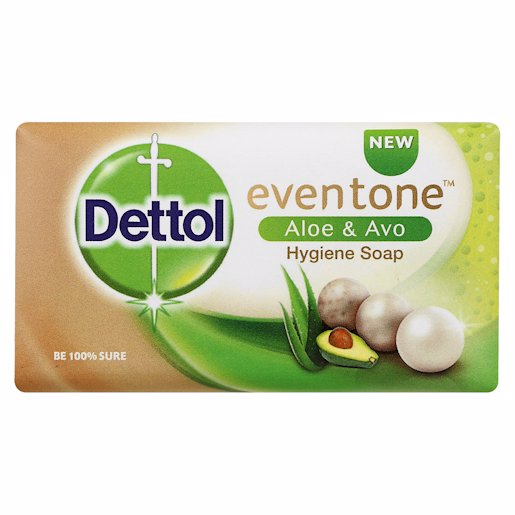 DETTOL SOAP EVENTONE ALOE 150GR