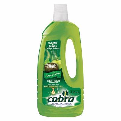 COBRA  ACTIVE TILE CLEANER CRISP APPLE 1LT