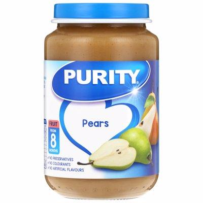 PURITY 3RD FOODS PEARS 200ML