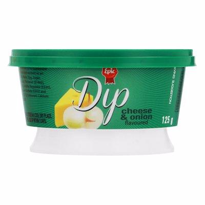 EPIC DIP CHEESE & ONION 125GR