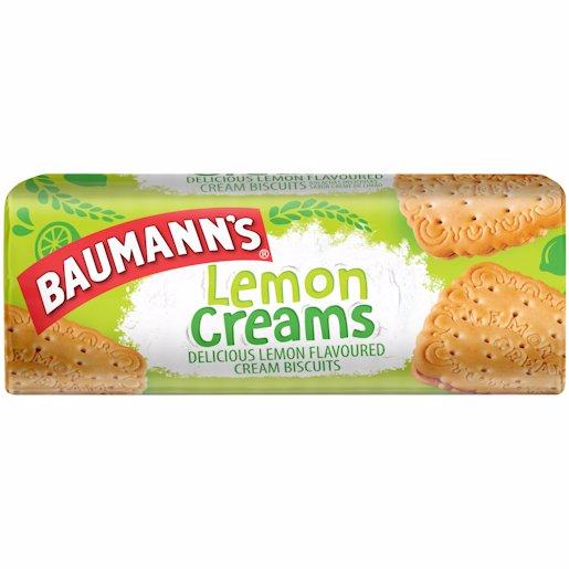 BAUMANNS LEMON CREAMS 200G