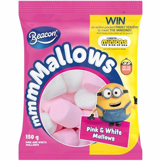 M/MALLOW PINK & WHITE 150GR