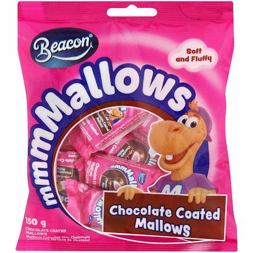 BEACON MALLOW P&W CHOC 150GR