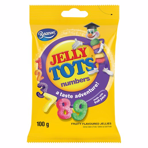 JELLY TOTS NUMBERS 100GR